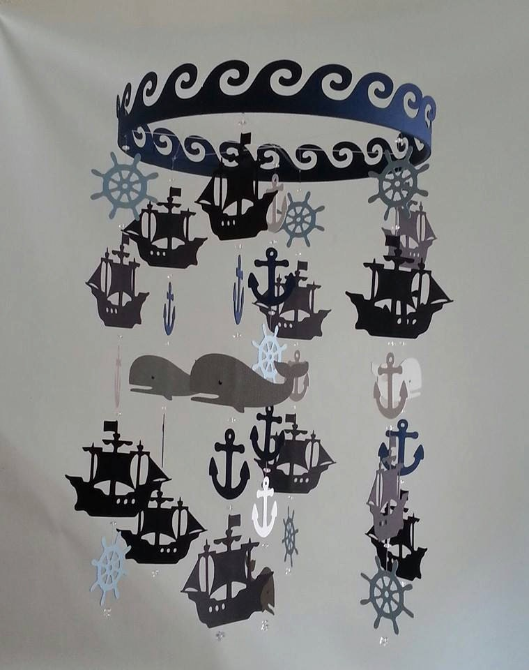 Pirate Baby Mobile Baby Mobile Customize