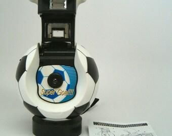 Soccer Ball 35mm Novelty Camera, Ball Shaped Novelty Camera, 35mm Novelty Camera, Vintage