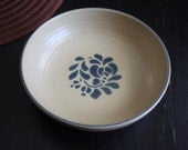 Vintage Vegetable Bowl Pfaltzgraff Folk Art Rare Vegetable Bowl