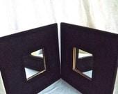 Chalkboard Mirror / Home / Office Wallhanging Mirror Set
