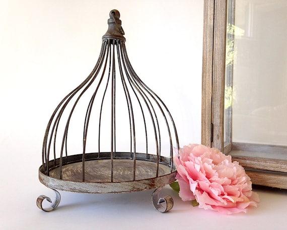 Cage oiseaux cage oiseaux d corative d coration cage for Cage a oiseaux decorative