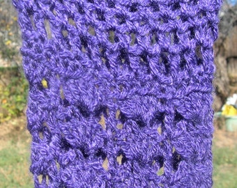 Leg Warmers Lacy Leg Warmers Adult Women Purple