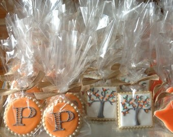 Monogram Sugar Cookie Collection