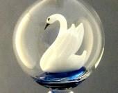 White Swan in Blue Waters #18