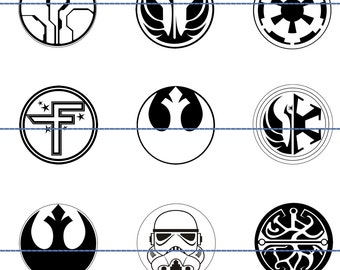 Star Wars Magnets Pins, Symbols, Party Favors, Fridge Magnets, Gift Sets, Pendants Available