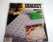 Vintage MAGIC CROCHET Special Edition #5 Pattern Book - doilies - table mats - bedspreads - table runners -