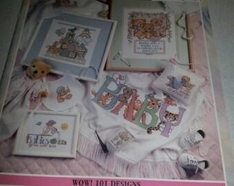 Cross Stitch Book Baby Designs 101 Designs