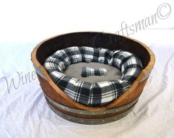"""ALVEO - """"Torpor"""" - Wine Barrel Pet Bed - 100% recycled"""