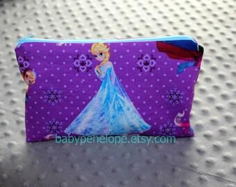 Pencil Case/Cosmetic Bag/ Gadget Case -  Frozen