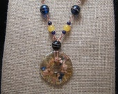 African Pendant Necklace-Carnival