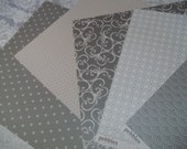 Elegant Collection 20 6x6 Sheets paper by American Craft and Pebbles