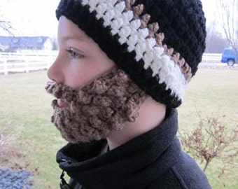 SALE!! Custom Preteen ULTIMATE Bearded Beanie