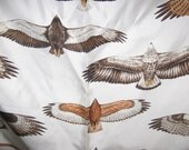Unfinished Scarf-Wathne-Hawks-Silk Twill-Made in Italy