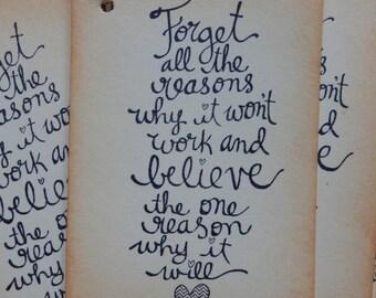 Believe - Success- Inspirational Tags (8)
