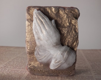 praying hands soap scented glycerin soap religious