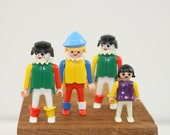 Four Vintage Playmobil People, 1974 and 1981, no.6