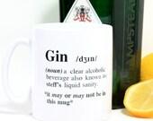 Personalised Gin Definition Mug