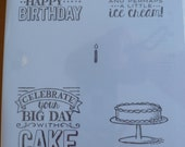 SAB Big Day BN CLEAR Stamps