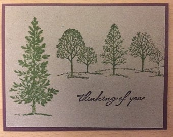 Nature/tree theme--blank card