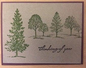 Nature/tree theme--blank card