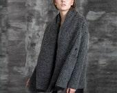 Winter Coat - Dark Gray (M237)