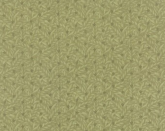 Country Orchard - Ground Cover in Leaf by Blackbird Designs for Moda Fabrics
