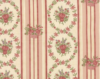 Country Orchard - Wild Bouquet in First Blush by Blackbird Designs for Moda Fabrics