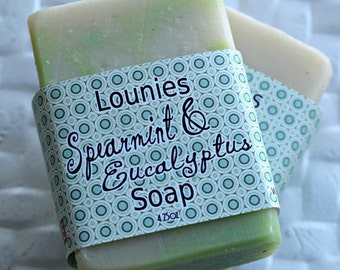 Spearmint & Eucalyptus Soap