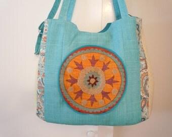 Bohemian Diaper Travel Bag