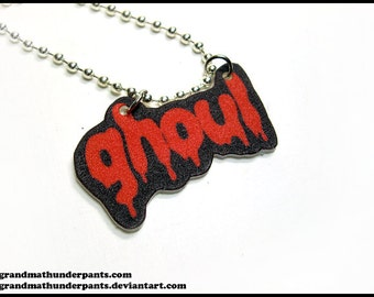 Dripping Ghoul Necklace