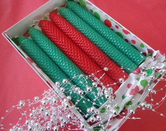 Christmas Candles in a GIft Box