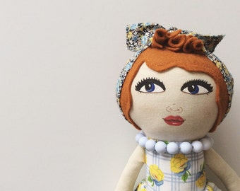 Julia a handpainted artdoll REDUCED PRICE
