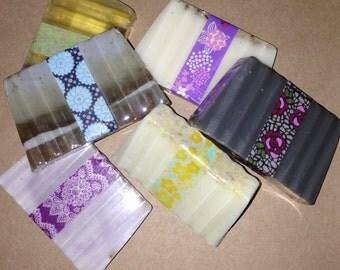 1oz hand soap sampler- 6 bars