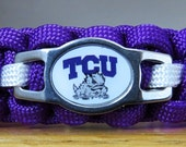 TCU Cat Collar, Paracord Collar