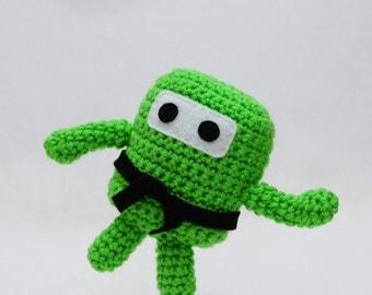 Mini Ninja Plush - Spring Green