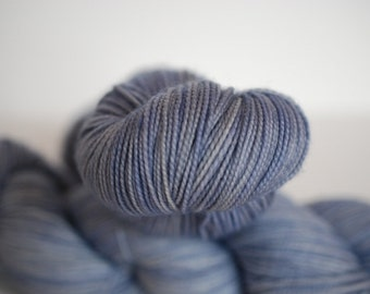 Fingering, Chalkhill Blue - 80/20 First-String PLUS SW Merino Fingering Wt Yarn, 11264