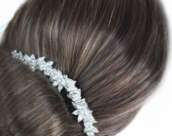 Wedding hair comb, bridal hair accessories, wedding rhinestone hair comb, bridal hair comb crystal ,wedding headpieces,wedding comb,bridal