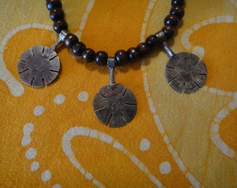 Arabic Coin Prayer Bead Necklace