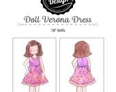 Doll Verona Dress Pattern