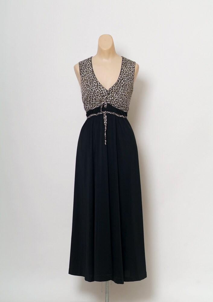 Vintage60s Lingerie Vintage 70s Nightgown 50s 60s Retro