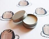 Chocolate Truffle Scented Lip Balm - Natural Shea Butter Lip Balm - Cocoa Butter - Beeswax - Lip Balm Tin - Lip Balm Favors - Matte Lipstick