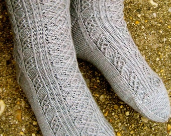 Knit Sock Pattern:  Marconi's Favorite Socks Knitting Pattern