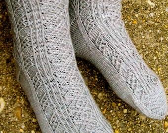 Knit Sock Pattern:  Marconi's Favorite Socks Knitting Pattern
