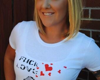 F Love Make Jokes tee