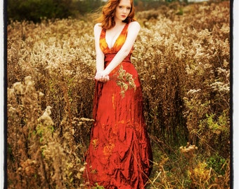 red wedding dress with crinoline skirt victorian style weddings and fall weddings boho mother of the bride tie dye maxi boho chic