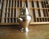 Vintage Brass Jar Urn Antique Ginger Jar Brass Container with Lid Hollywood Regency Decor
