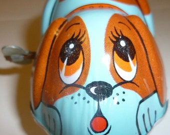 Dog Yone Wind Up Vintage Toy, 1960s