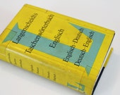 Vintage Langenscheidt's German Pocket Dictionary -1970