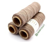 Thin Hemp Twine, Micro Macrame Cord, Brown High Quality .5mm Hemp Binding Twine