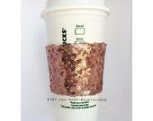 Sparkle Coffee Sleeve- Bride Gift, Bridesmaid's gift, birthday gift
